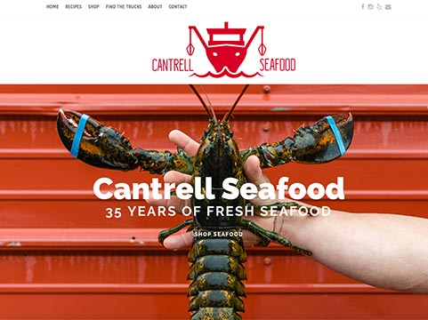Cantrell Seafood Web Developer